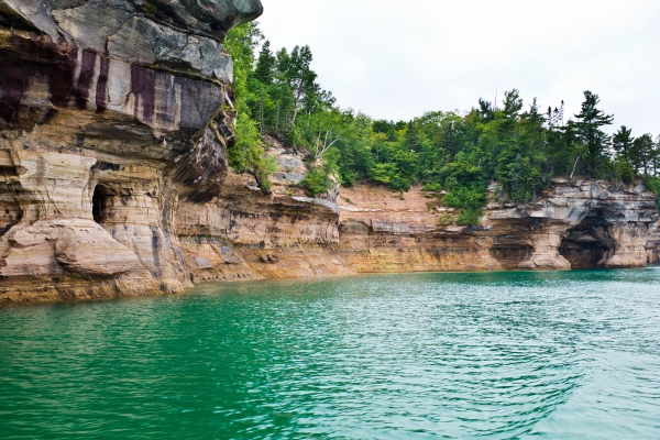 Pictured Rocks National Lakeshore.